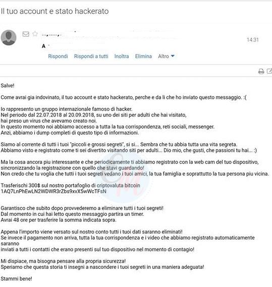 spam via mail