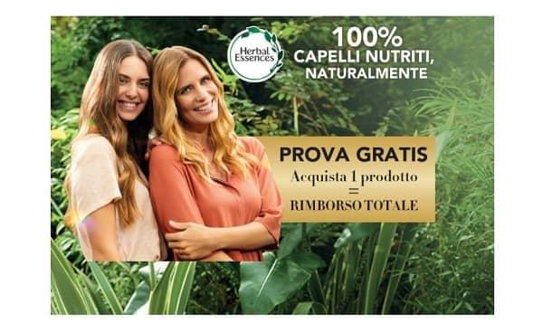 prova gratis un prodotto herbal essences